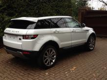 2014 LEFT HAND DRIVE RANGE ROVER EVOQUE 2.2 DIESEL AUTOMATIC    VAT QUALIFYING CAN BE SOLD LESS 20% VAT