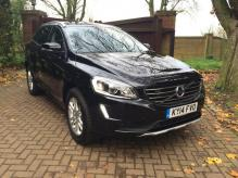 2014 RIGHT HAND DRIVE VOLVO XC60 D5 AUTOMATIC