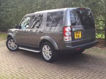UK REGISTERED LAND ROVER DISCOVERY 4 HSE