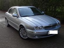 Jaguar X Type Sovereign petrol automatic left hand drive