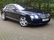 One Owner Left Hand Drive Bentley GT Coupe