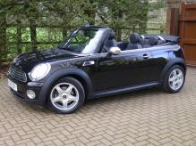 UK REGISTERED LEFT HAND DRIVE MINI COOPER CONVERTIBLE AUTOMATIC WITH SAT NAV