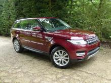 UK Registered New model Range Rover Sport HSE Diesel Left Hand Drive.