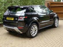 UK REGISTERED RANGE ROVER EVOQUE DYNAMIC LUX 2.0 PETROL LEFT HAND DRIVE