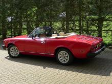 Classic Fiat 124 Spider. Featured on TV and in multiple Magazines.
