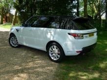 UK registered LEFT HAND DRIVE RANGE ROVER SPORT AUTOBIOGRAPHY SDV6 7 SEATER
