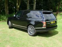 UK registered LEFT HAND DRIVE RANGE ROVER VOGUE SE LWB 3.0 SUPERCHARGED PETROL