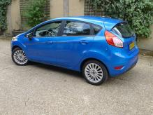 2015 UK REGISTERED LEFT HAND DRIVE FORD FIESTA TITANIUM 1.6 PETROL