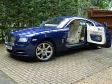 UK REGISTERED LEFT HAND DRIVE ROLLS ROYCE WRAITH