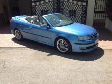 Spanish Registered SAAB Convertible Left Hand Drive. One Lady Owner