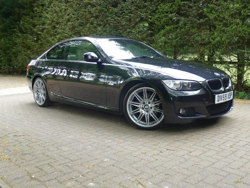 Right Hand Drive Bmw 320d M Sport Highline Coupe Auto
