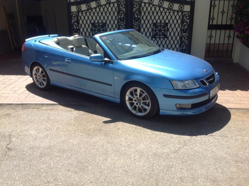 Spanish Registered SAAB Convertible Left Hand Drive. One ...