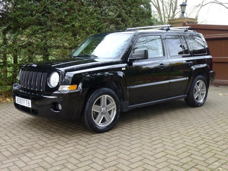 SPANISH REGISTERED JEEP PATRIOT 2.0 CRD LIMITED LEFT HAND ...