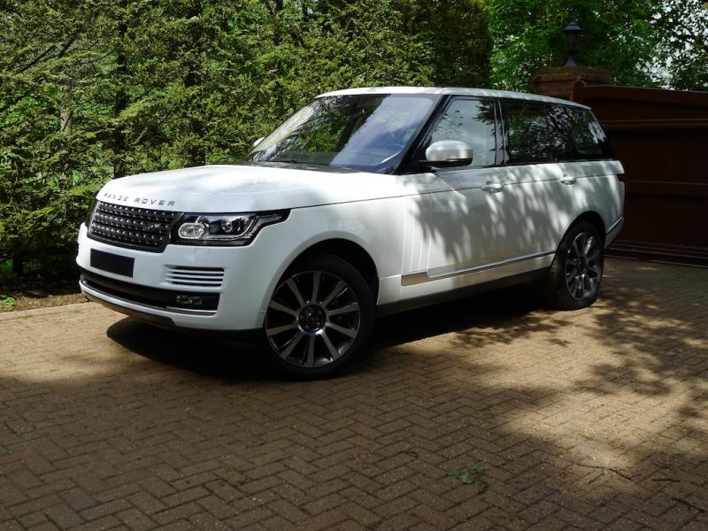 Uk Registered 2016 Range Rover 5 0 Hse Left Hand Drive