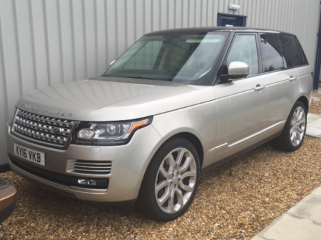2016 UK Registered Range Rover Supercharged Vogue Left Hand Drive.