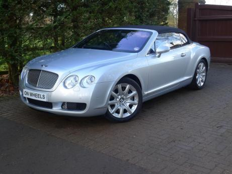BENTLEY CONTINENTAL GTC RIGHT HAND DRIVE 1 OWNER
