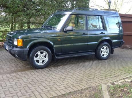 LEFT HAND DRIVE LAND ROVER DISCOVERY TD5 UK REGISTERED