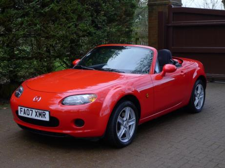 Left Hand Drive Mazda MX-5 Coupe Converticle 2007 UK Registered