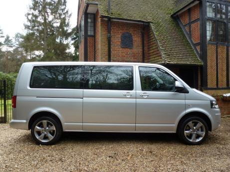 LHD VW CARAVELLE 9 SEATER MINBUS.