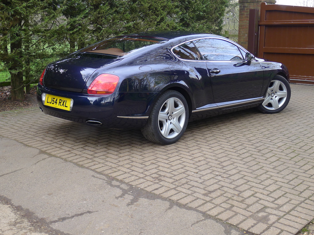 P on 2005 Bentley Continental Gt For Sale